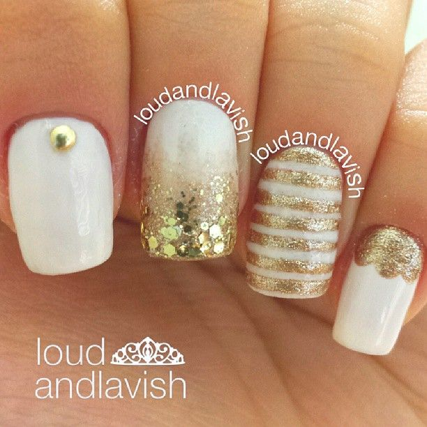 Instagram photo by loudandlavish #nail #nails #nailart