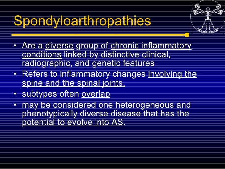 5spondyloarthropaties Seronegative Arthritis
