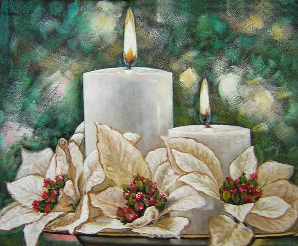 Best images about christmas oil painting on pinterest