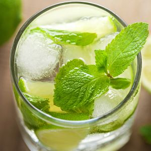 Ready for a trip to Havana? After one glass of this Spearmint Tea Mojito, your guests might spontaneously start rumba dancing. After a few pitchers ...well, don't say we didn't warn you!