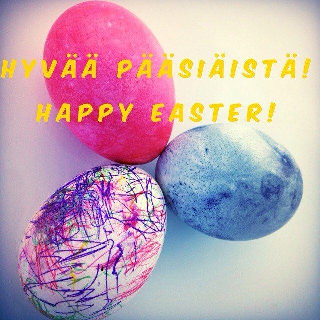 Hyvää pääsiäistä! Happy Easter! 🐣 #pääsiäinen #pääsiäismunat #eastereggs
