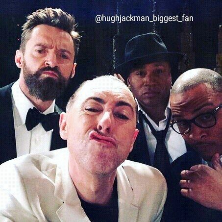Hehehe..  Funny photo  #thehughjackman #hughjackman #actor #hollywood #australian #sexiestmanalive #man #musical #dancer #singer #talent #famous #unbeatable #beautiful #goodlooking #handsome #cool #warmhearted #friendly #attractive #fit #funny #tonyawards2014 #suit