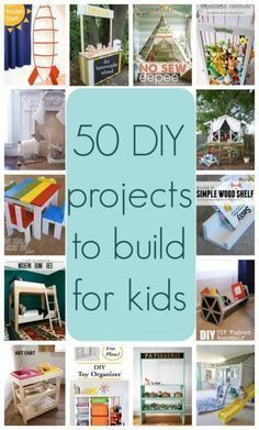50 DIY projects to build for kids | woodworking plans | woodworking projects #WoodworkingPlansForKids #woodworkingprojects #woodworkingforkids
