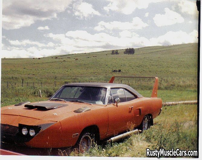 1970 plymouth superbird on the farm farmbird post rusty muscle car photos and - Rusty Old Cars For Sale