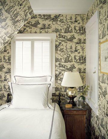 Pattern Really Lasts. Cozy Small BedroomsAttic ...
