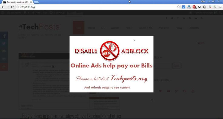 Ad blockers is a controversial topic for many webmasters. While its very much right to use adblocker on sites which throw many ads at you, for example animated banners, flash, with sounds, or popup...