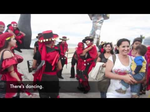 My short movie on performers getting ready for the Carnaval parade in Mazatlán.