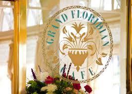 Grand Floridian Café Menu