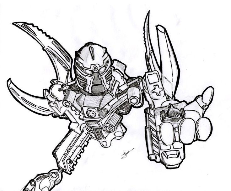lego bionicle kopaka coloring pages - photo#31