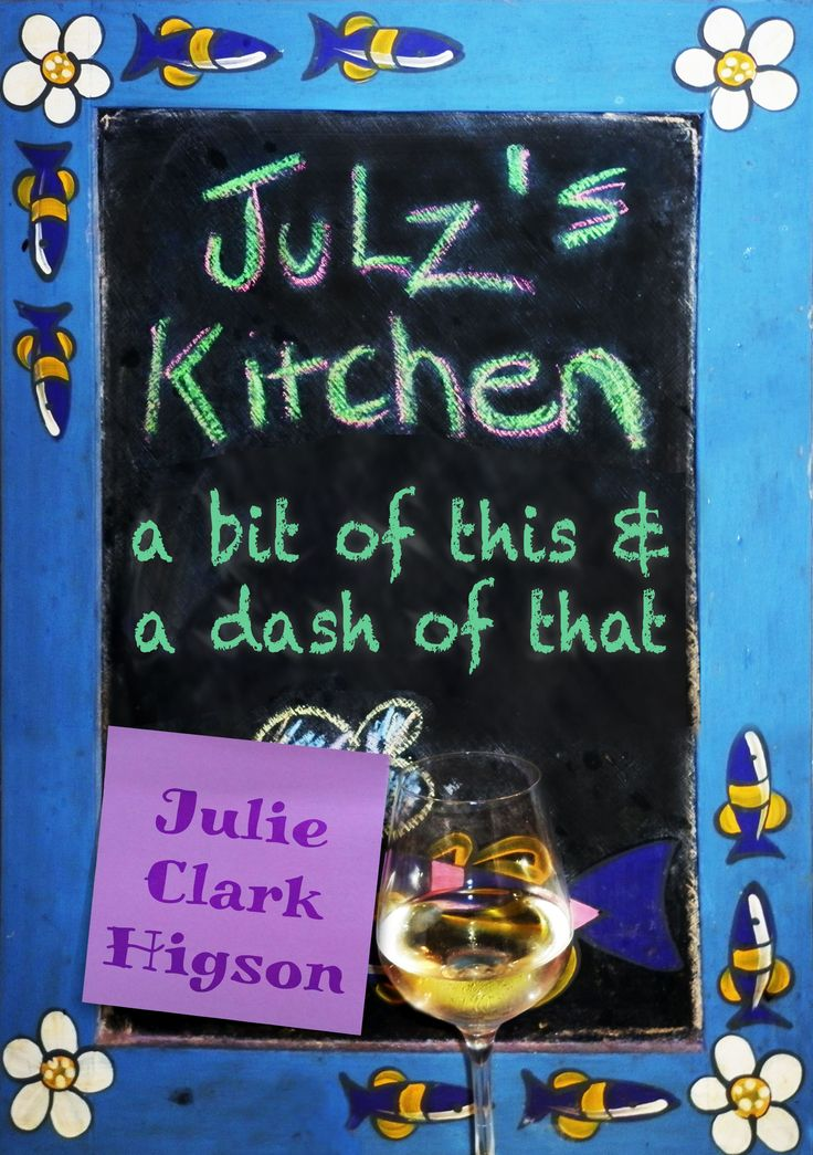 Julz's Kitchen is a funky new Ebook cookbook that is simple, easy, pantry friendly, family friendly, not fancy pantsy follow me today and download the book on Amazon, Google play, Barnes and Noble, I-Tunes and Kobo <3