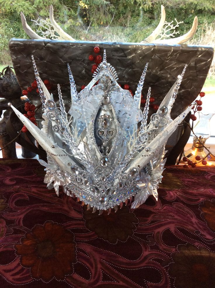 White Witch Crown. Made for local theatre production of ...