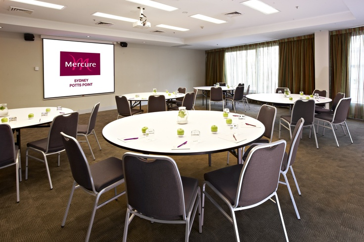 Mercure Potts Point is a recently refurbished hotel in one of my favourite parts of Sydney. Conference rooms with natural light, spacious modern accommodation, attractive prices, heaps of great restaurants and cafes in the area ... and they use their public space to show work by local artists. gotta love that! get more info at www.sydneyhotelconferences.com/Hotel-MercurePottsPoint.htm
