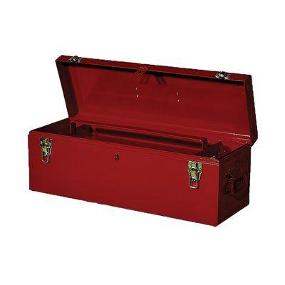 International HBB-2 Red Steel Lockable Tool Box