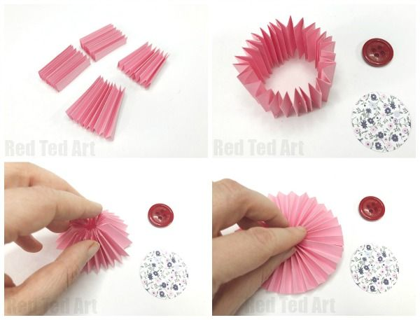 Take Your Square Piece Of Paper And Prepare To Concertina Fold It