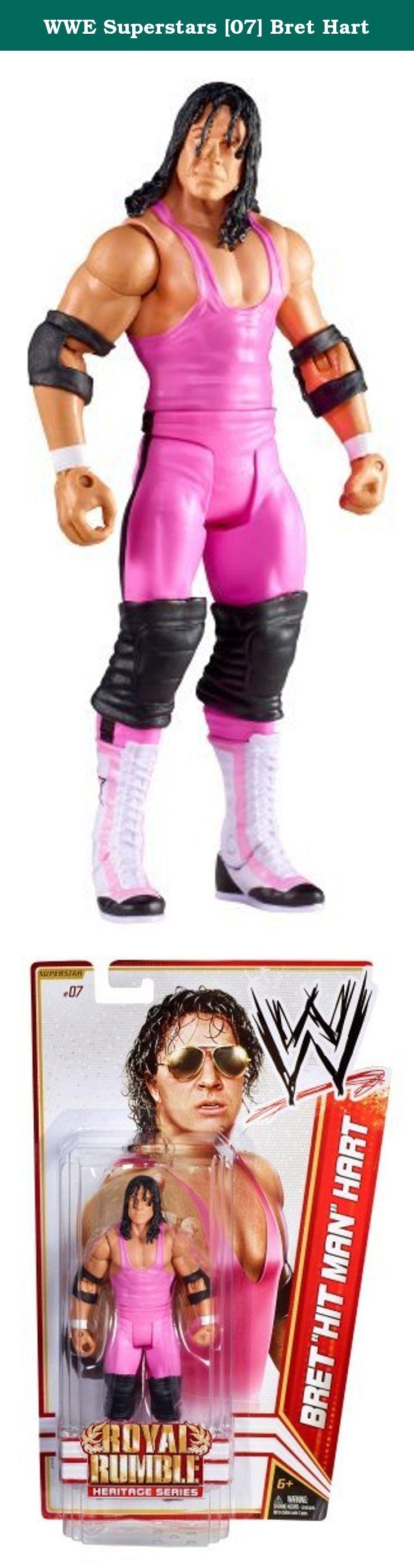 WWE Superstars [07] Bret Hart. It's shipped off from Japan.