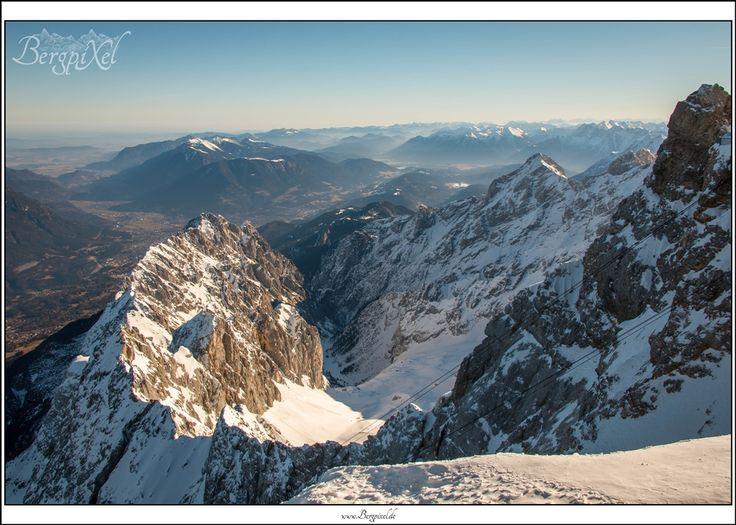 Zugspitze - watch out www.bergpixel.de #zugspitze #topofgermany #germany #deutschland #bayern #bavaria #winter #schnee #snow #berg #berge #mountains #alpen #alps #landscape #outdoor #gipfel #summit #höllental