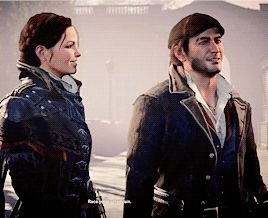 I love these twins. Jacob & Evie Frye. Frye twins. Assassin's Creed Syndicate.