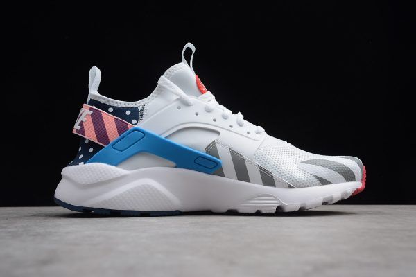 616ecee61630c Parra x Nike Air Huarache Run Ultra White Multi-Color For Sale-2