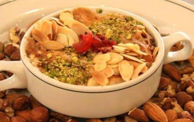 وصفة أم علي بالبف باستري والقشطة والحليب Food Chicken Meat