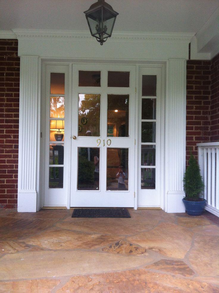 22 best entry doors images on pinterest entry doors for Front entry doors with storm door