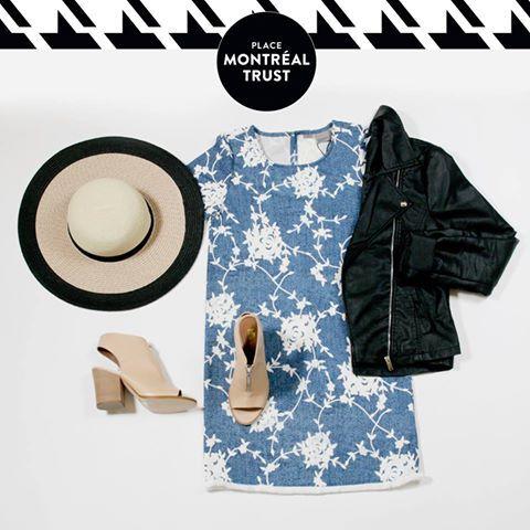 #PMTLook  Le parfait équilibre #MiSaison avec #VEROMODA et #LittleBurgundy. #OOTD #Shopping #Mtl #Look