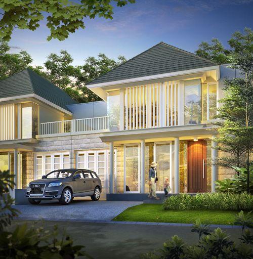 Desain Rumah Surabaya Barat Citraland - Tipe Maple