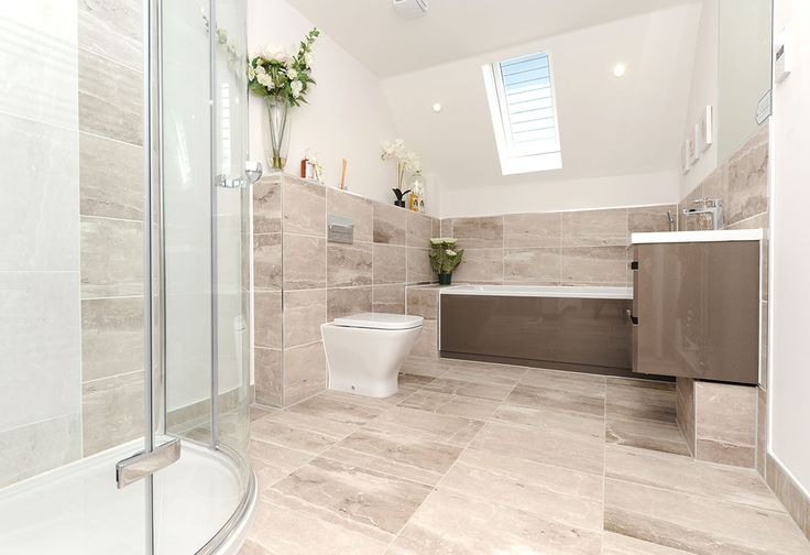 Luxury Bathrooms Kent very spacious family bathroom at our winchester show home at