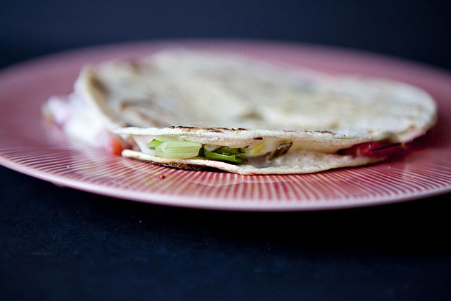 Quesadillas, Strawberries and Goat cheese on Pinterest