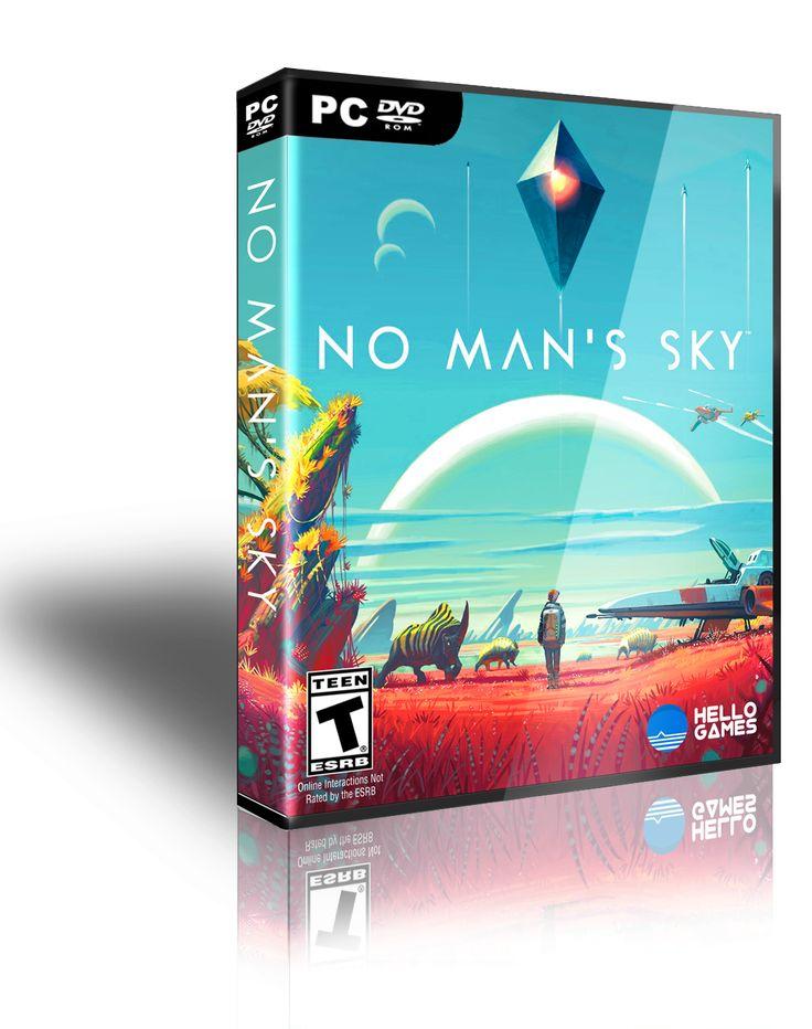 """No man's sky"" pc game cover inspiration @Βεργίδης Γιώργος"
