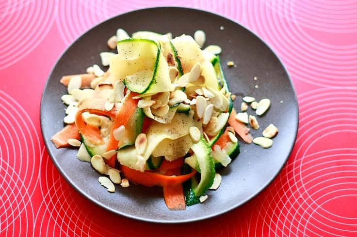 Sałatka z cukinią | Salad with zucchini