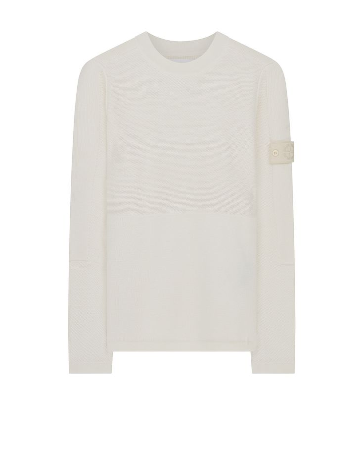 576D3 GHOST PIECE Crew Neck Wool Knit