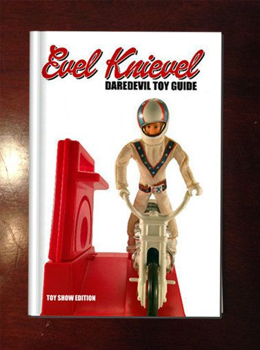 Evel Knievel Daredevil Toy Book! Had this while my little brother had Derry Daring !