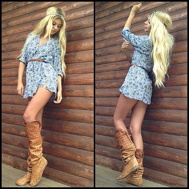 Her Hair And Clothes Clash In The Perfect Country Teenage