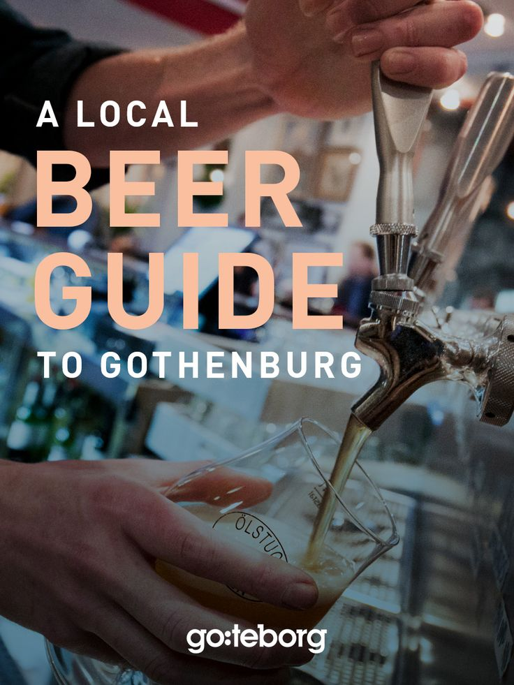Guide to Gothenburg's local beer scene and microbreweries. | goteborg.com | Photo: Frida Winter