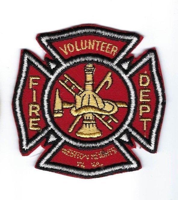 Weirton Heights (Hancock Co.) WV West Virginia Volunteer Fire Dept. patch - NEW!