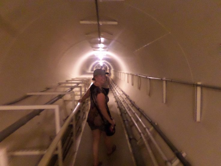Inside the tunnel-Biosphere2