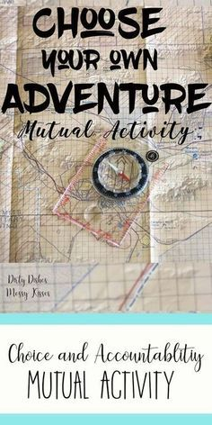 Choose your Own Adventure – This is a fun LDS Young Women activity that focuses on choice and accountability. Bring Personal Progress to life with this unique idea.