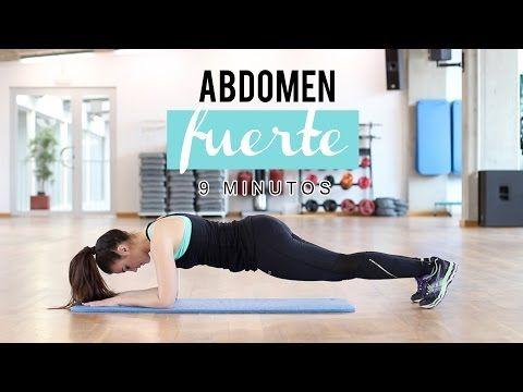 Ejercicios para abdomen fuerte y marcado - YouTube