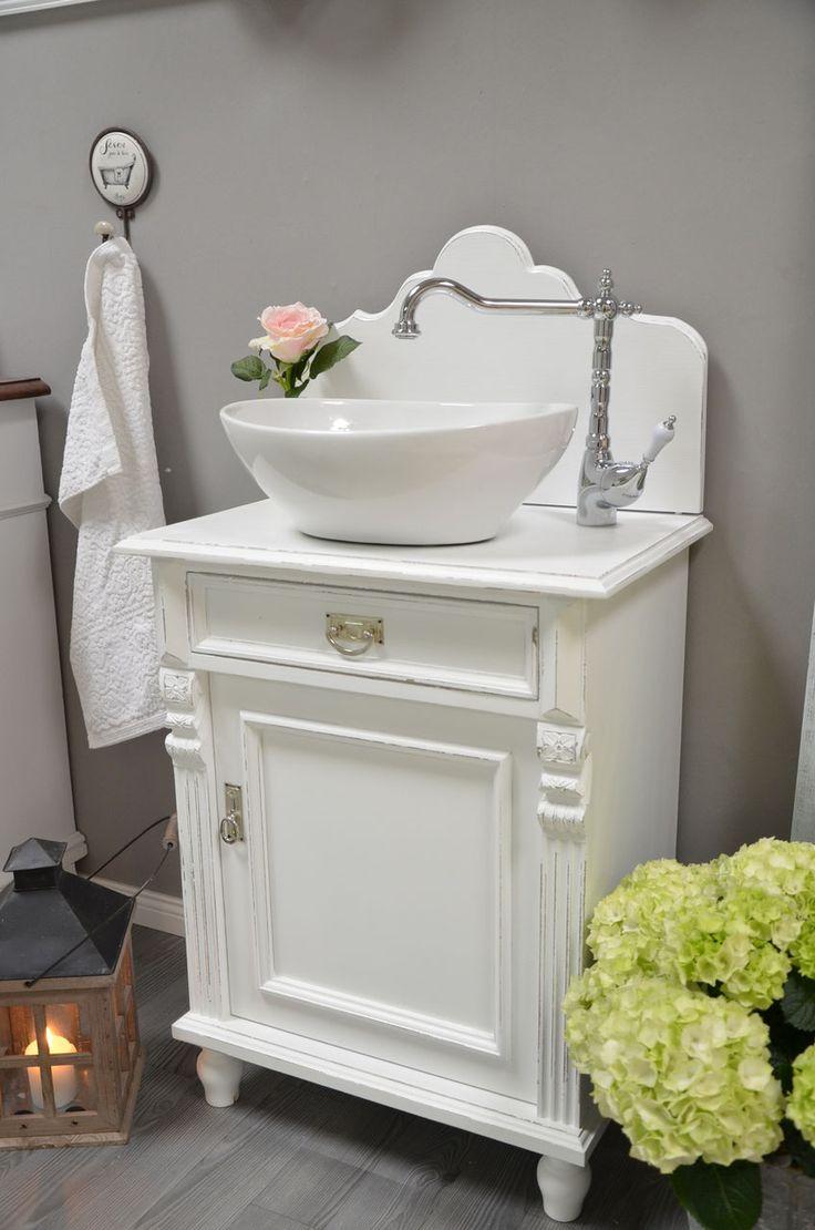Gästewaschtische und kleine Waschtische für ein wohnliches Badezimmer - Landhaus, Nostalgie, Vintage, Retro uvm.
