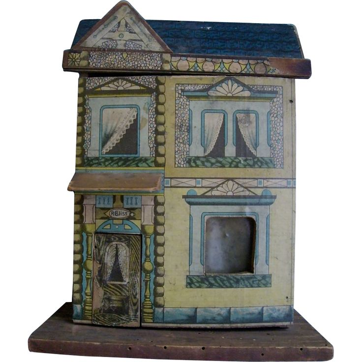 Bliss Dollhouse Wallpaper: 345 Best BLISS !!!....& Other Lithograph Dolls Houses