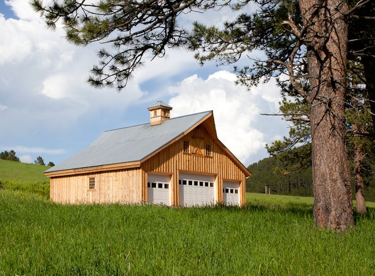 17 best images about pole barn on pinterest 3 car garage for Traditional barn kits