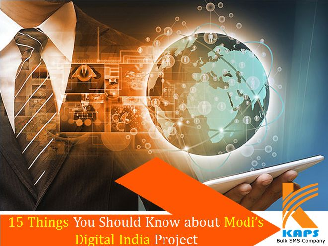​Digital India - 15 things you should know about modi's digital india project