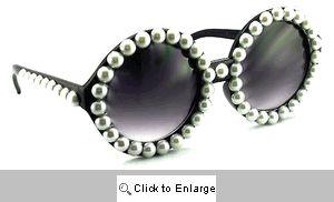 Pearl Big Round Sunglasses - 521