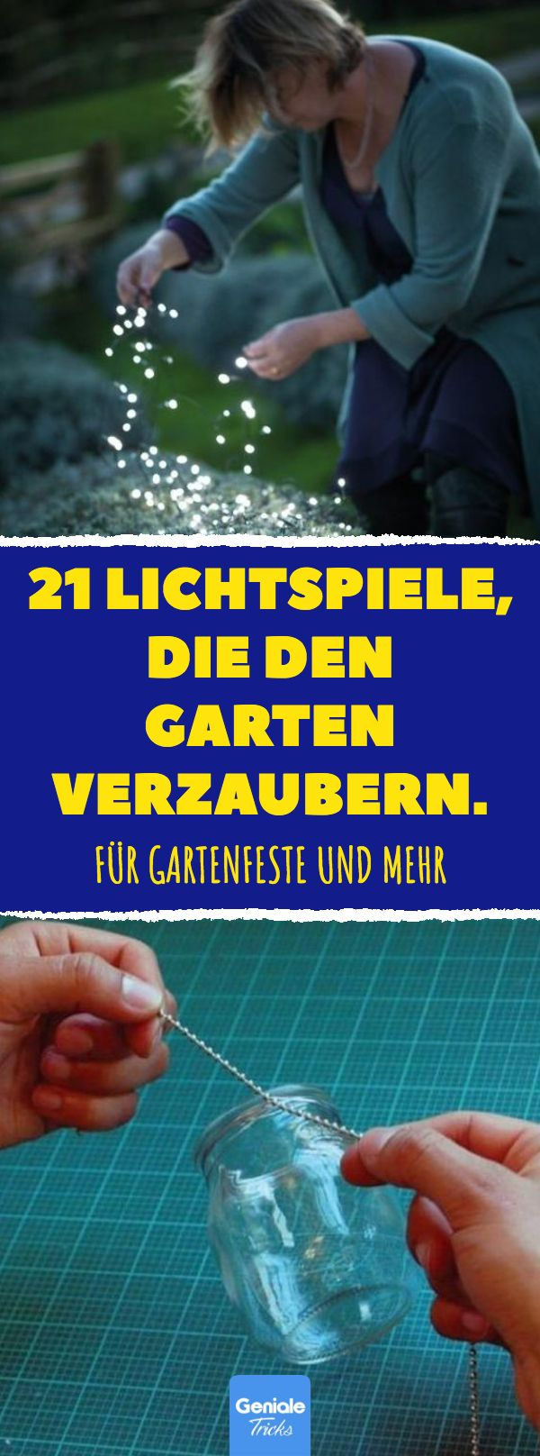 #Gartenbeleuchtung #Gartendeko #Gartenfest #Beleuc…