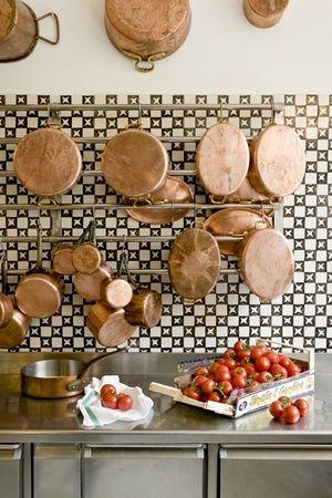 Italy - Campania ...Always love copper pots!!