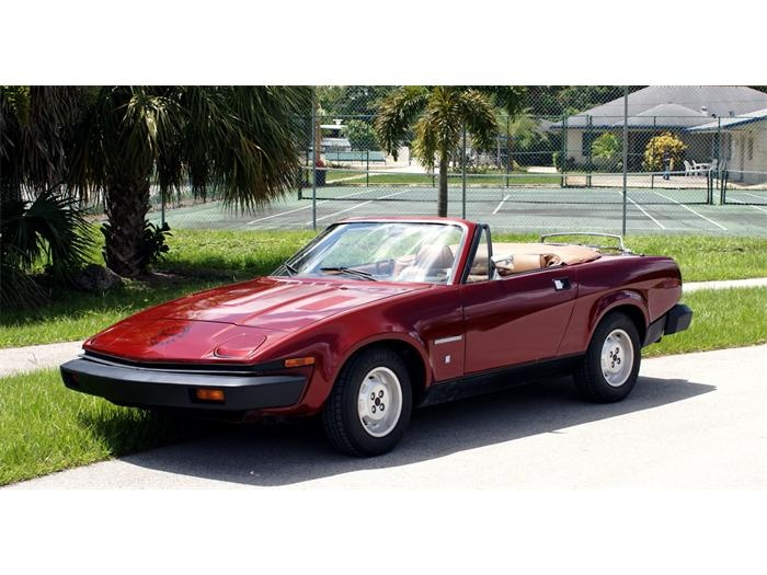 oh how i wanted one of these many years ago...Triumph TR7