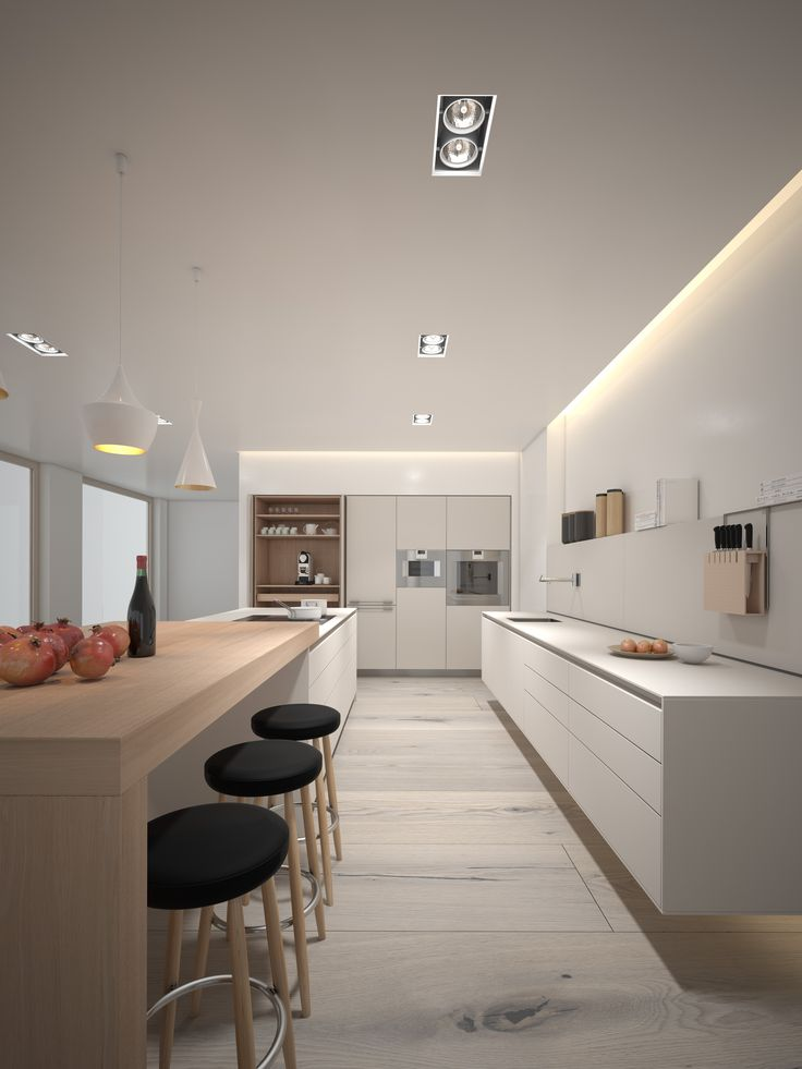 Kaolin + Oak B3 3d rendering
