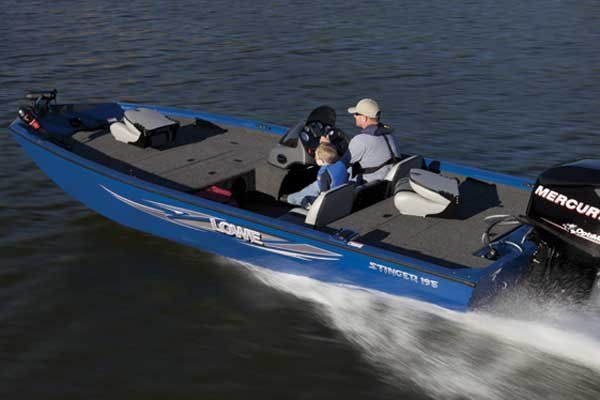 Multi-species Boat - Lowe Stinger 195