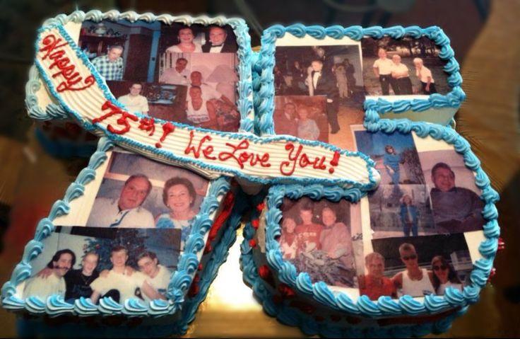 75th Birthday cake                                                                                                                                                     More