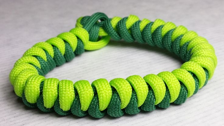 How to make snake paracord bracelet without buckle by for Paracord stuff to make
